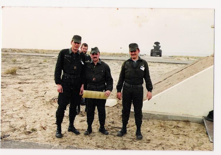 armée 1986 - 57E REGIMENT D ARTILLERIE