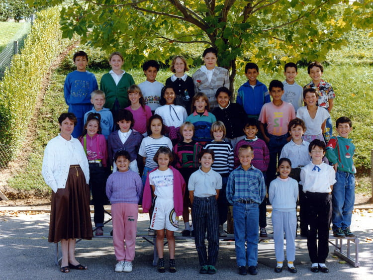 Photo de classe classe de cm1 de 1990 ecole jacques - Cours de cuisine villefranche sur saone ...