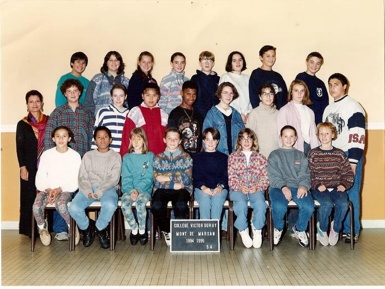 photo de classe 5 176 4 la meilleure classe de 5 176 de 1994 coll 232 ge victor duruy copains d avant