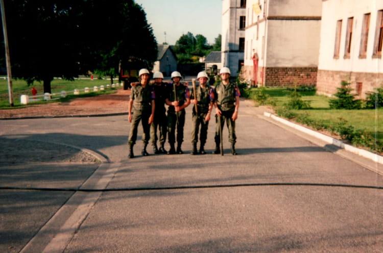 4ème RC, police militaire, journées portes ouvertes juin 93 1993 - 4EME CUIRASSIERS