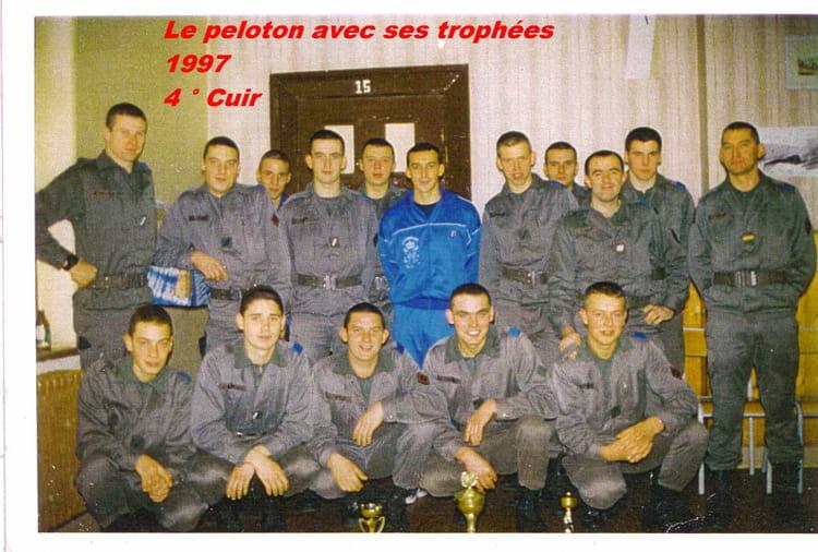 4ième Peloton 1°ESC/4°RC 1997 - 4ème RC