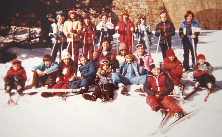 Ecole De Neige. Classe de neige hiver 1981