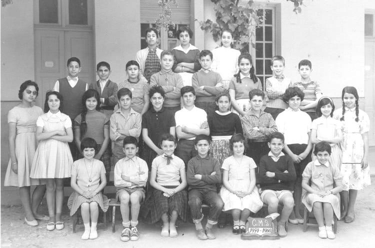 C.M.2 - 1959-1960 1960 - Ecole de l' avenue de France
