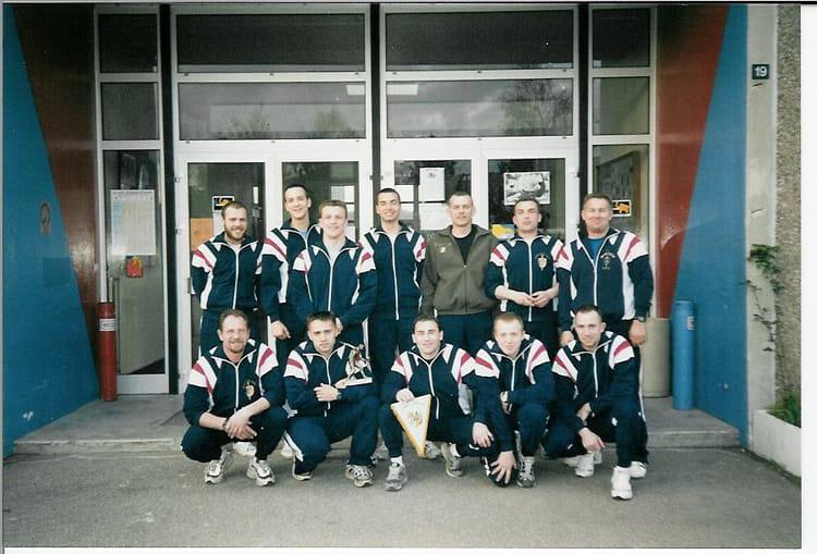 Equipe de foot en salle 1999 - 57E REGIMENT D ARTILLERIE