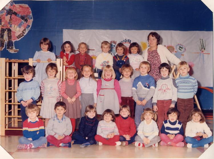 photo de classe 3 me ann e de maternelle de 1984 ecole le moulin fleuri brie comte robert. Black Bedroom Furniture Sets. Home Design Ideas