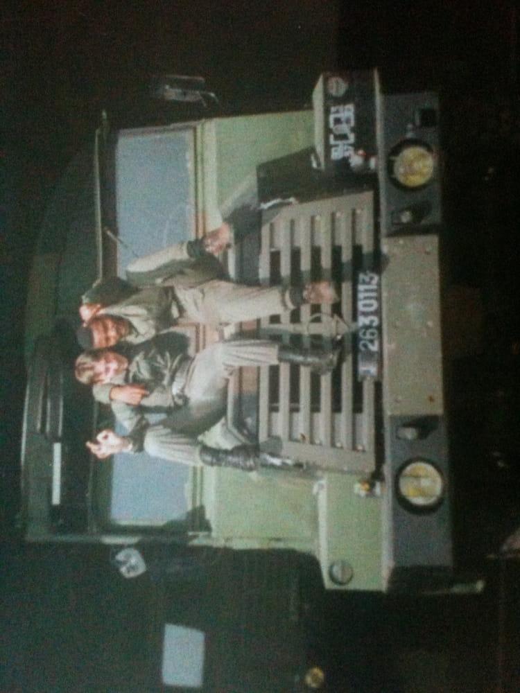 Ralphi Dibling et Zephir 1993 - 57E REGIMENT D ARTILLERIE