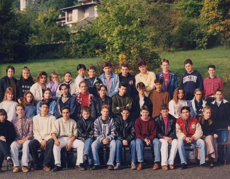 Photo de classe BEP ACC A de 1991, Itecboisfleury  ~ Itec Bois Fleury