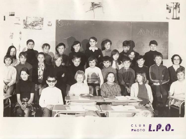 photo de classe 6eme 2 de 1970 lyc 233 e porte oc 233 ane copains d avant
