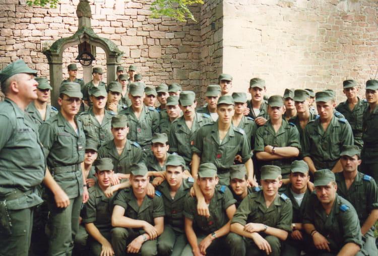 LA B4 DU 57° RA 1987 - 57E REGIMENT D ARTILLERIE