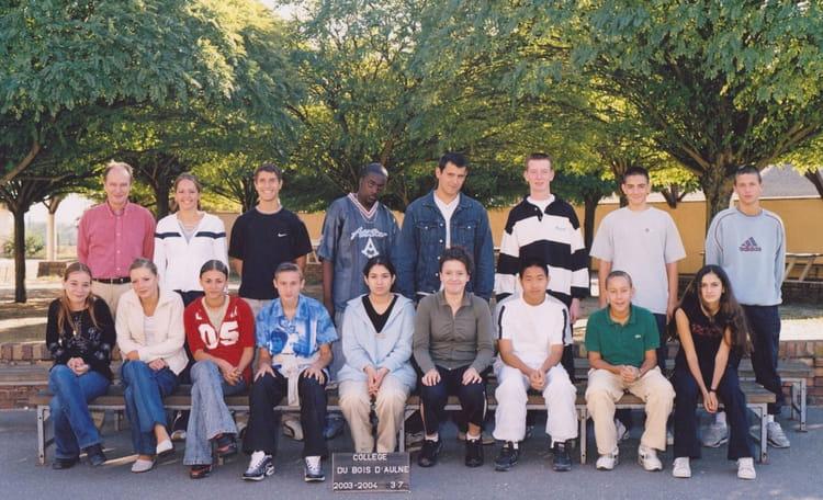 college du bois daulne conflans sainte honorine , Photo de classe de ~ College Du Bois D Orceau