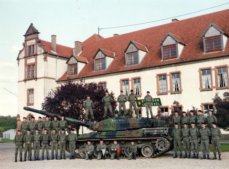 service militaire octobre 1992 1992 - 4EME CUIRASSIERS