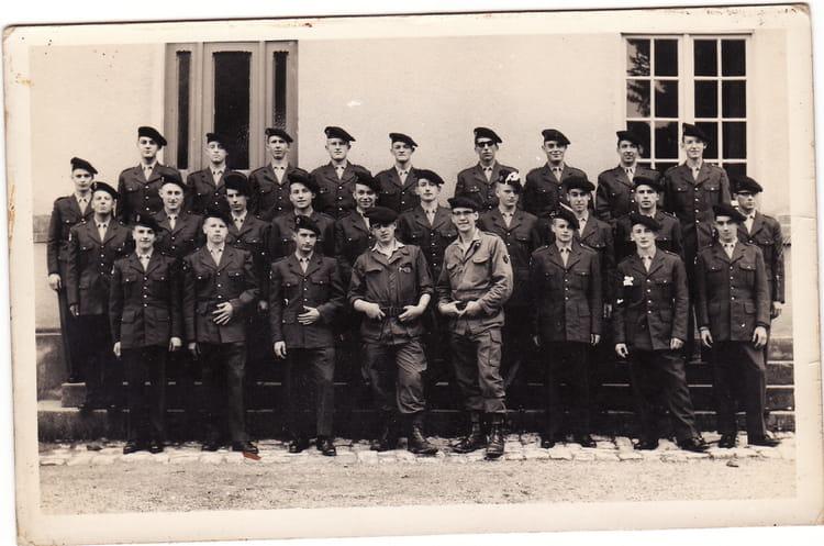 1ère compagnie classe 671C Bitche camp 1967 - 1ER R.I.M.