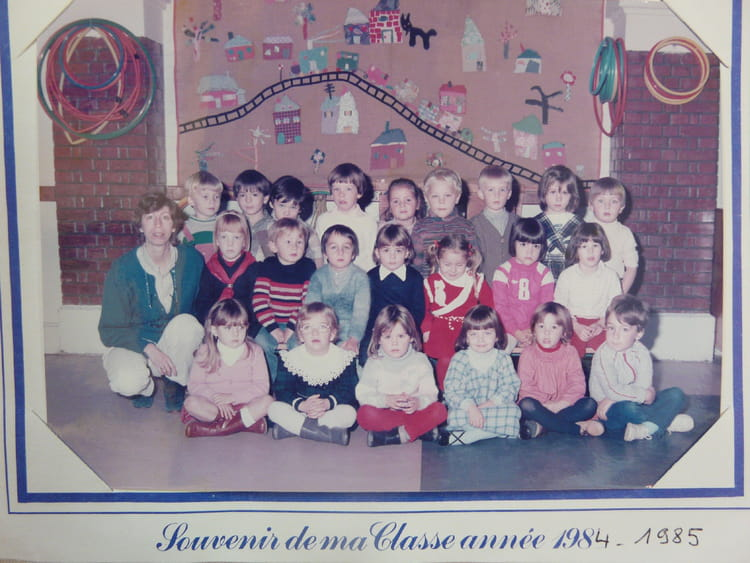 maternelle moyen section 1984 - �COLE DE LA CIT�