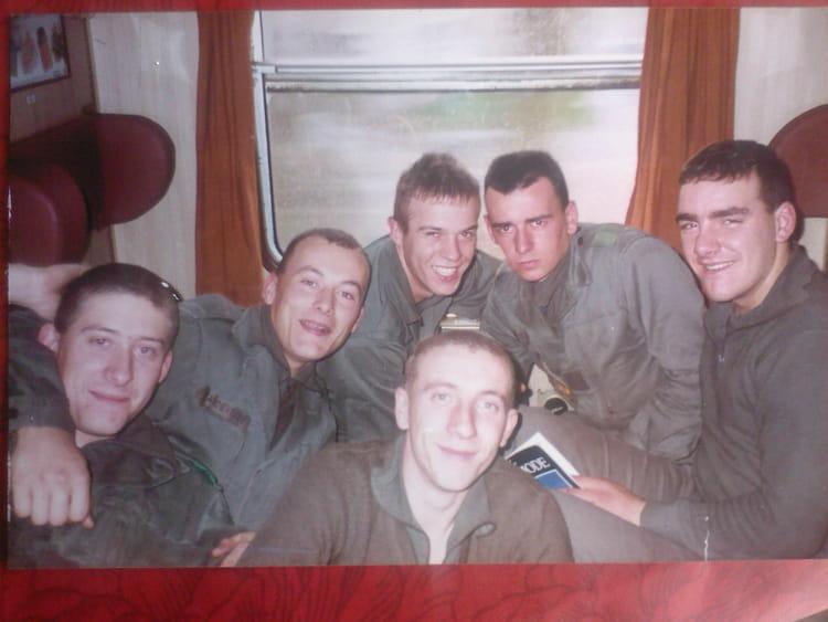 la 9O/06 dans le train vers l'enfer 1990 - 4EME CUIRASSIERS