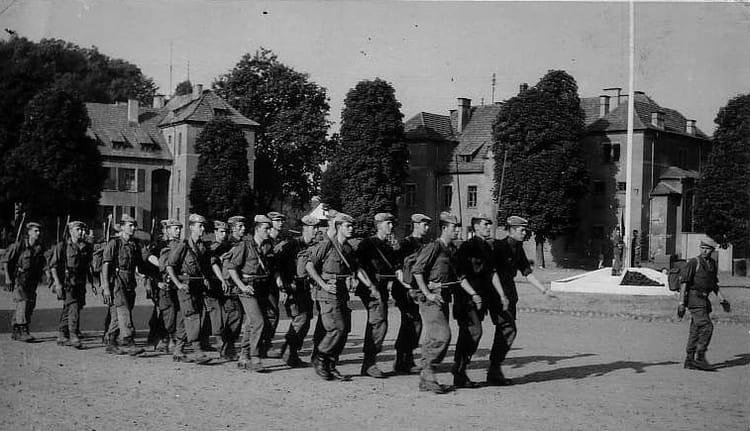 retour raid 1964 - 1ER R.I.M.