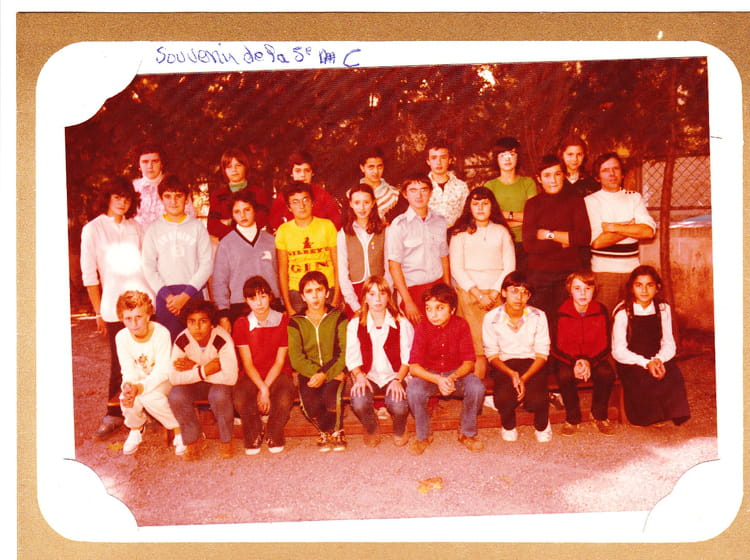 photo de classe 5 ieme c de 1979 coll ge jean vilar copains d 39 avant. Black Bedroom Furniture Sets. Home Design Ideas