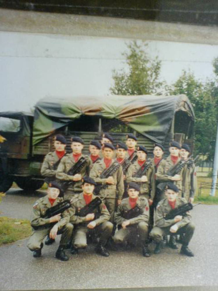 1ére batterie 1996 - 57E REGIMENT D ARTILLERIE