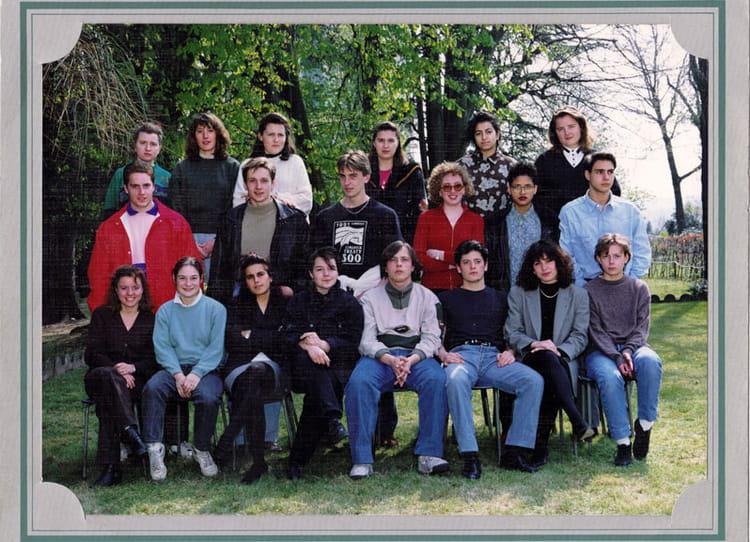 photo de classe bep2 accr 1991 1992 de 1992 lyc 233 e professionnel francois d assise
