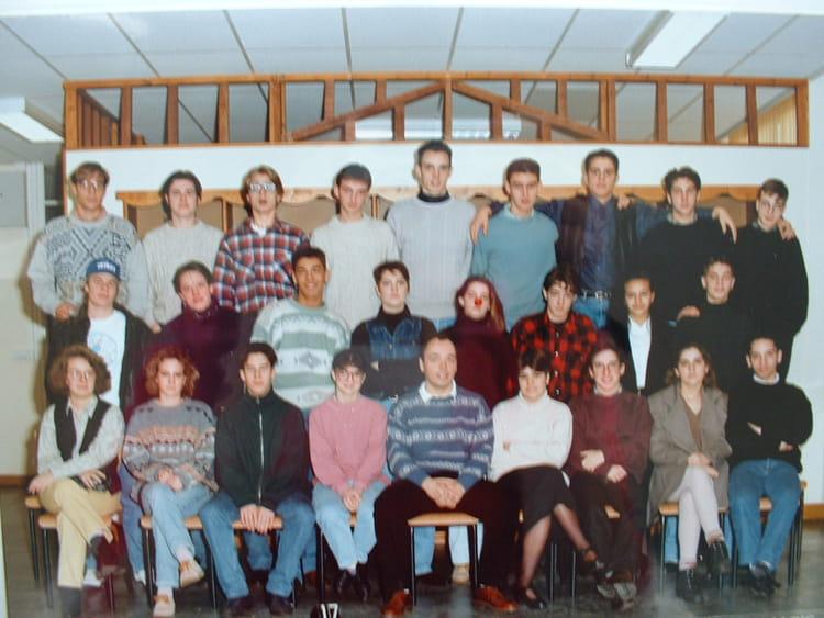 photo de classe 1ere es de 1994 lyc 233 e porte oc 233 ane copains d avant