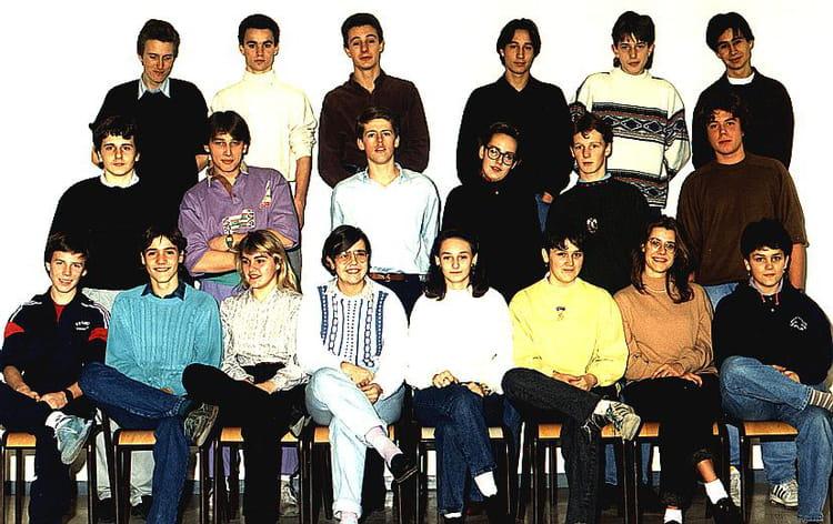 photo de classe premi re s 5 de 1989 lyc e jean paul sartre copains d 39 avant. Black Bedroom Furniture Sets. Home Design Ideas