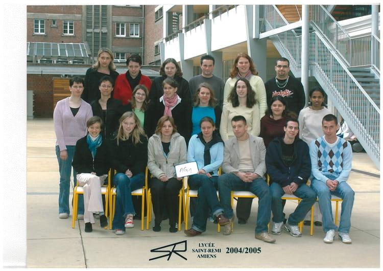 photo de classe ag1 de 2004 lycee prive saint remi bts copains d 39 avant. Black Bedroom Furniture Sets. Home Design Ideas