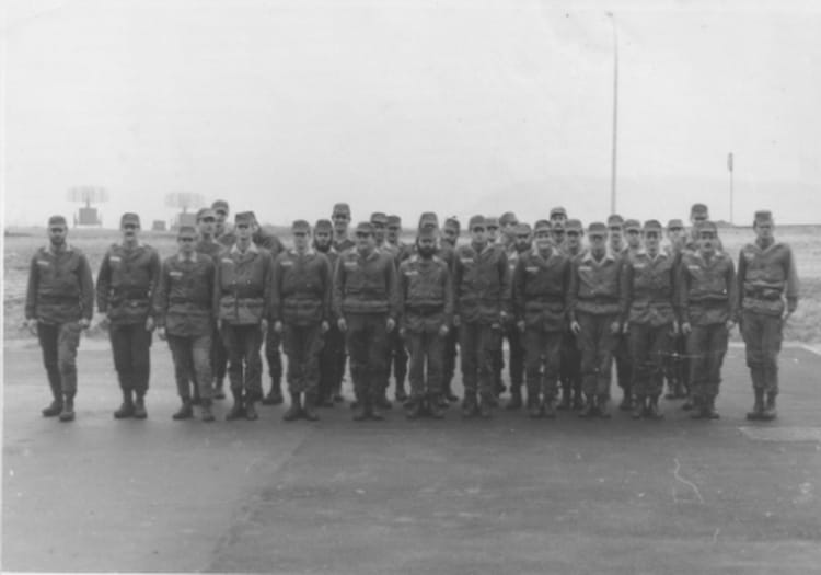 La fin des classes du P.E.G. 1977 - 57E REGIMENT D ARTILLERIE