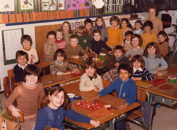 CE2 1978 - ECOLE LOUIS PERGAUD