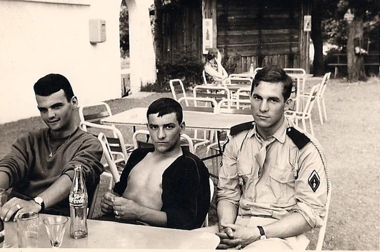 Etang d aspelchied 1965 - 1ER R.I.M.