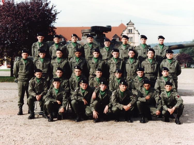 4e cuirassiers 1995 - 4EME CUIRASSIERS