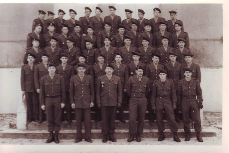 compagnie élève gradé (SARALBE) 1964 - 1ER R.I.M.