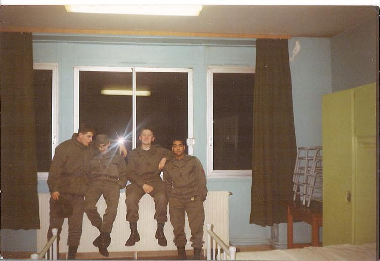 bitche 86/10 1987 - 57E REGIMENT D ARTILLERIE