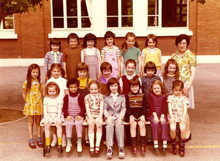 Photo de classe PHOTO DE CLASSE 1973 de 1973, Ecole  ~ Ecole Monceau Pavillons Sous Bois