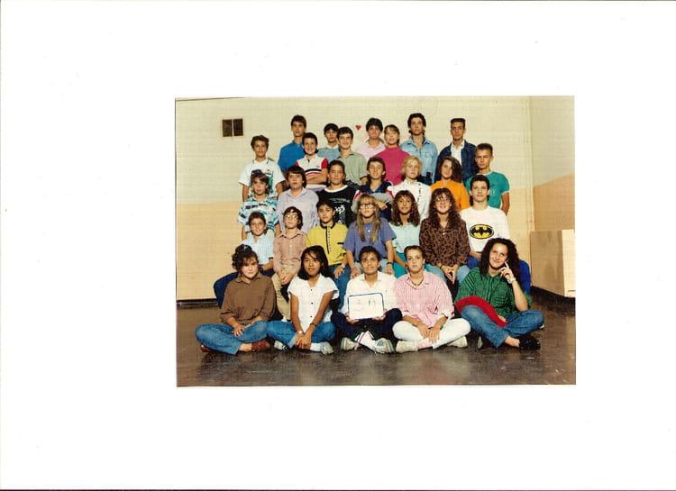 Photo de classe 3 me a de 1989 coll ge fr d ric mistral copains d 39 avant - College frederic mistral port de bouc ...