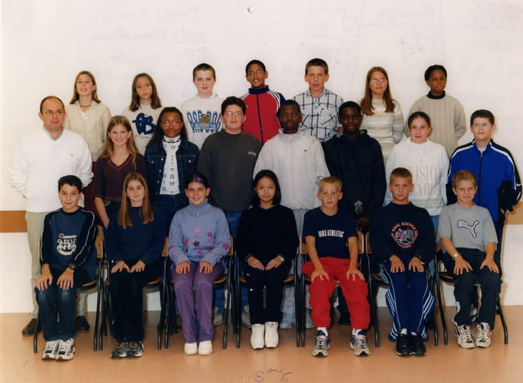 photo de classe 5 me6 de 2001 coll ge jean vilar copains d 39 avant. Black Bedroom Furniture Sets. Home Design Ideas
