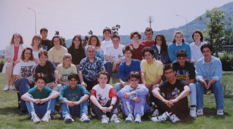 Photo de classe 3eme5 de 1991 coll ge charles de gaulle - College charles de gaulle guilherand granges ...