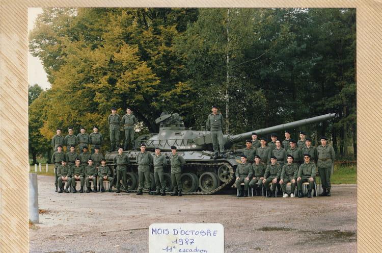 11eme Escadro 1987 - 57E REGIMENT D ARTILLERIE