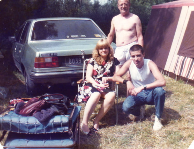 photo de classe au lac vert plage de 1984 camping lac. Black Bedroom Furniture Sets. Home Design Ideas
