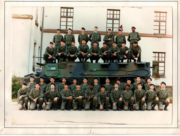 4ème Régiment de Cuirassiers - EDI - 93/08 - P2 1993 - 4EME CUIRASSIERS