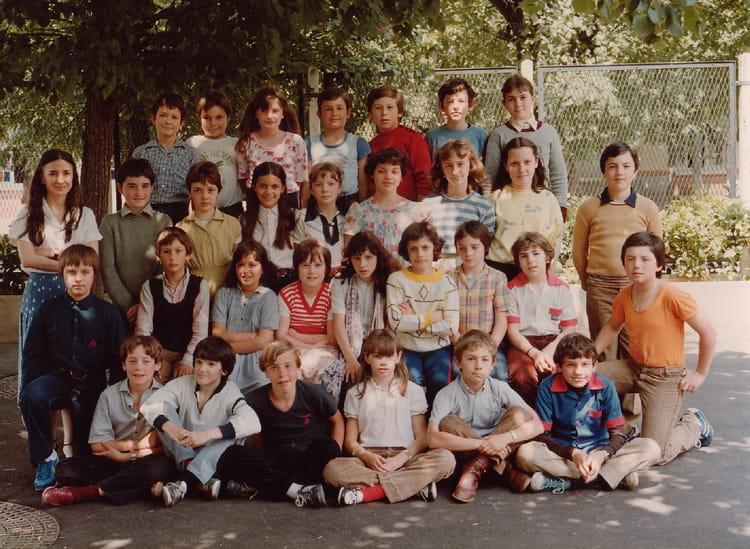 Photo de classe CM2 80  81 de 1981, Ecole Paul Bert  ~ Ecole Paul Bert Bois Colombes