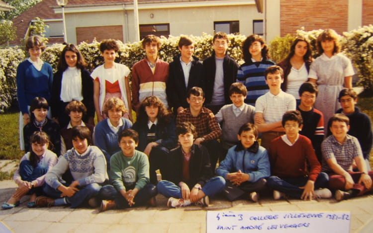 photo de classe 4e3 coll ge villeneuve st andr les vergers de 1981 coll ge de la villeneuve. Black Bedroom Furniture Sets. Home Design Ideas