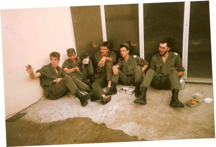 contingent 87/12 1988 - 57E REGIMENT D ARTILLERIE