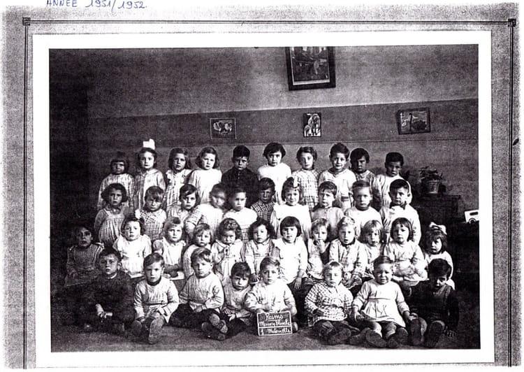Photo de classe maternelle 1 maison blanche de 1951 ecole for Creche maison blanche reims