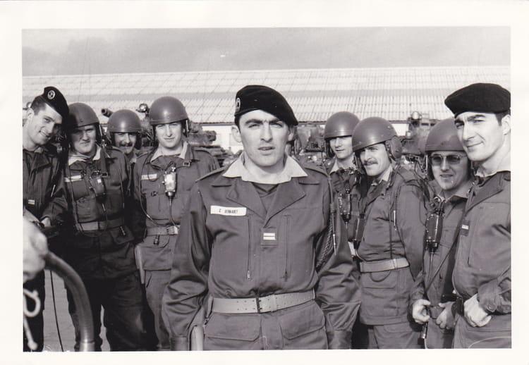 1° escadron 1974 - 4EME CUIRASSIERS