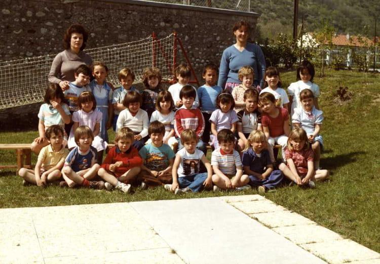 Maternelle , Photo de classe de 1984