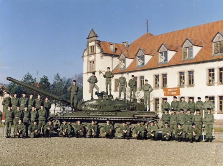 l armee a biche 1990 - 4EME CUIRASSIERS
