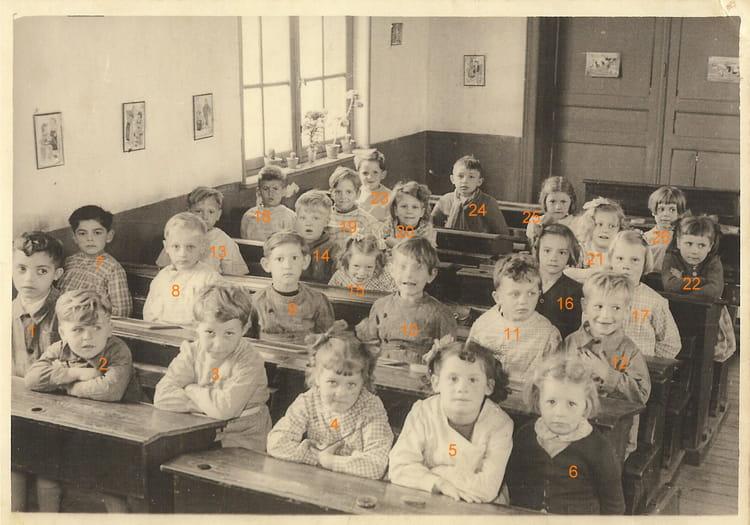 Photo de classe rue dupire cot gauche de 1951 ecoles des for Rue des garcons