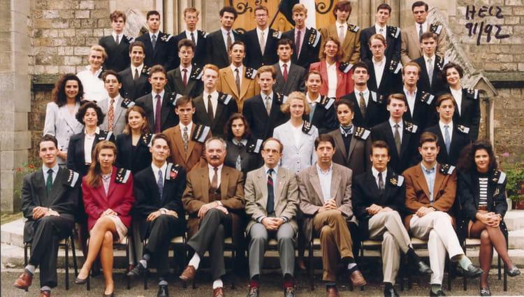 Photo de classe hec 2 1991 1992 de 1991 lyc e sainte - Lycee sainte genevieve versailles portes ouvertes ...