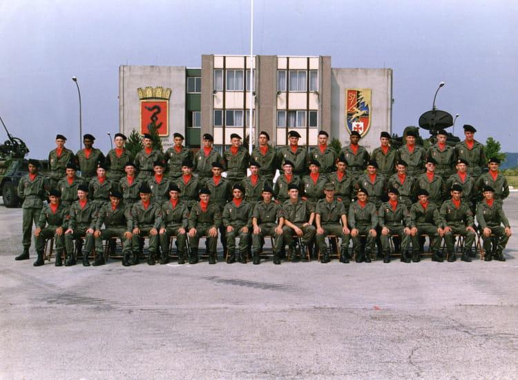 11 eme batterie aout 1990 1990 - 57E REGIMENT D ARTILLERIE
