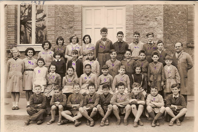 photo de classe epinay sous s nart certificat cm2 cm1 de 1957 ecole communale pension. Black Bedroom Furniture Sets. Home Design Ideas